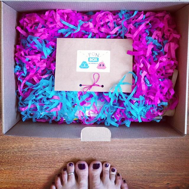 коробочка сюорприз FunBox от Babadu
