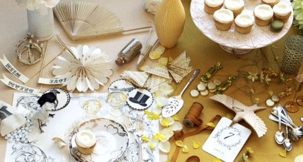table decoration, украшение стола