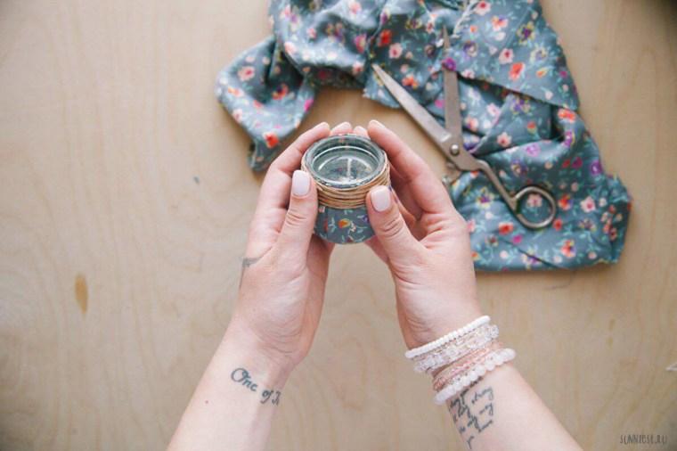 DIY Candles by Tina Khabarova