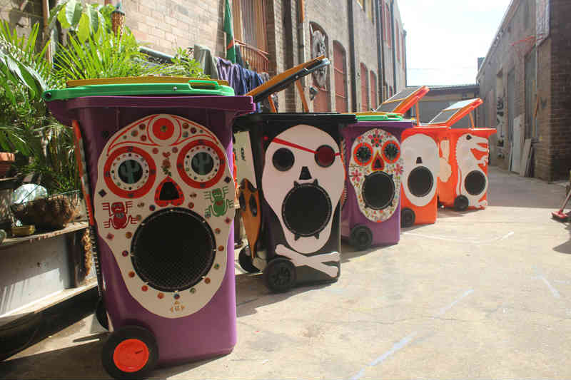 Sunny bins range 2011 for NSW Youth Week