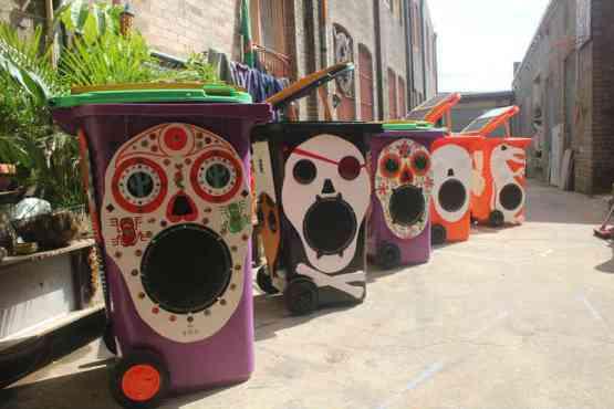 Sunny bins range 2011 for NSW Youth Week