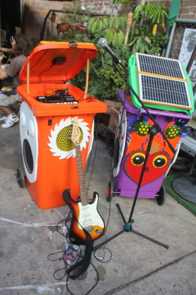Sunny Bins in performance mode