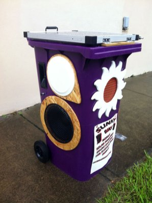 Grape bin purchased by Parkes Council in 2011