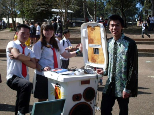 Rhino Blaster sold to Cherrybrook High 2012