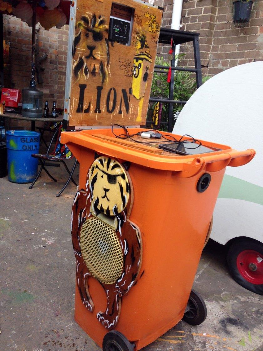 Lion Bin new look