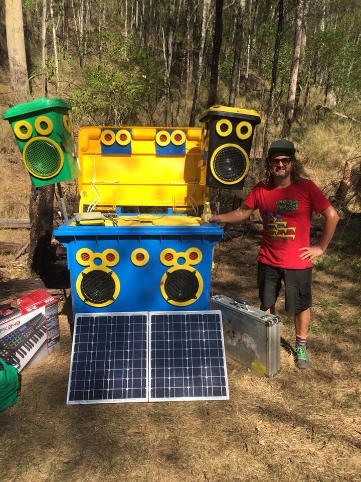 Sunny Skip Sound System goes bush