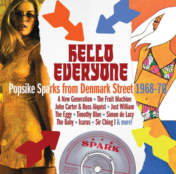 Various – Hello Everyone: Popsike Sparks From Denmark Street 1968-70 : Music 60s Rock Album Compilation