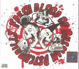 Various – Fresh Blood Of Russian Psychobilly : Rockabilly Punk Bands Music Punkabilly Album Compilation