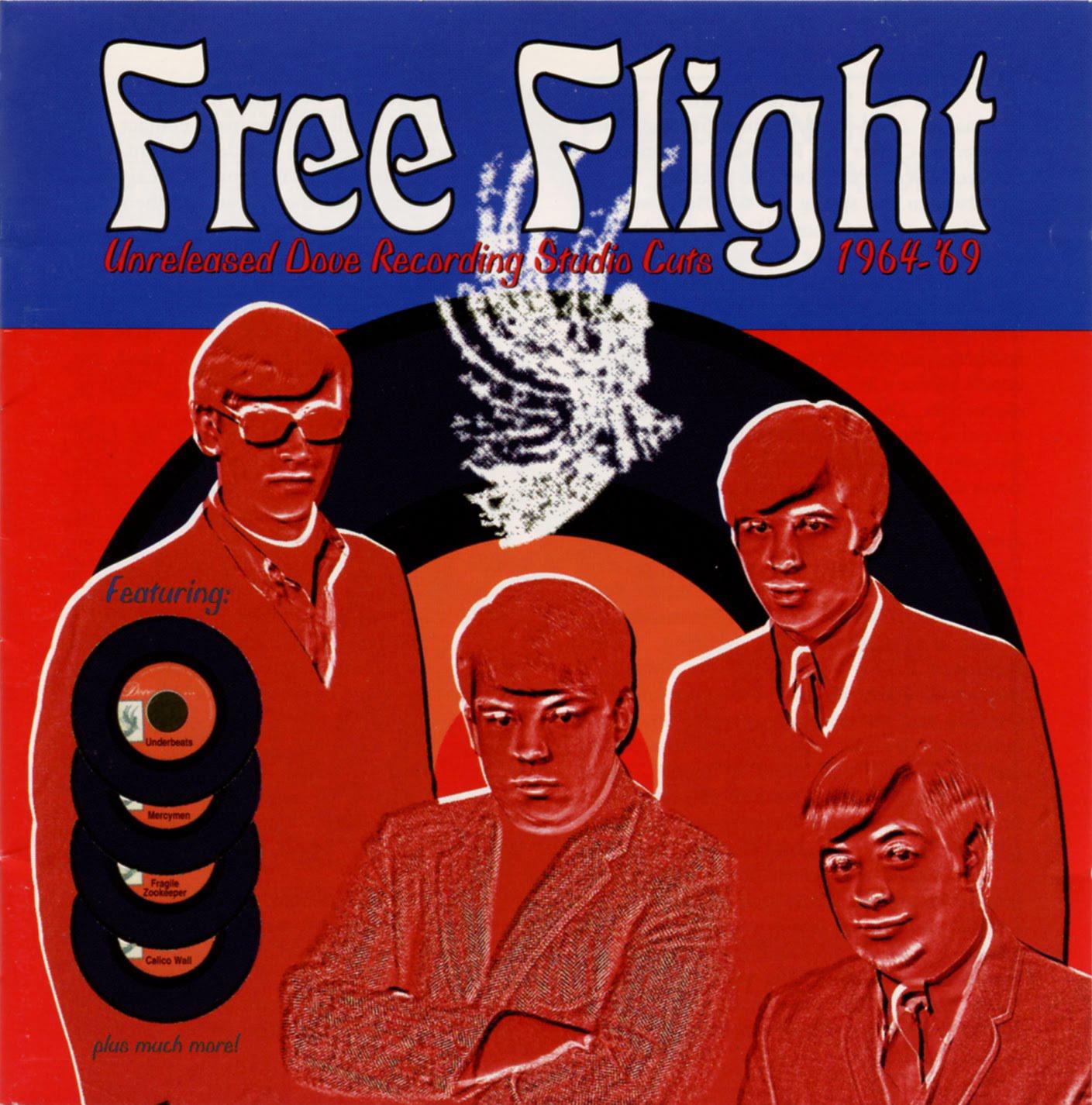 Various – Free Flight – Unreleased Dove Recording Studio Cuts 1964-'69 Garage Rock Psychedelic Music Album Compilation