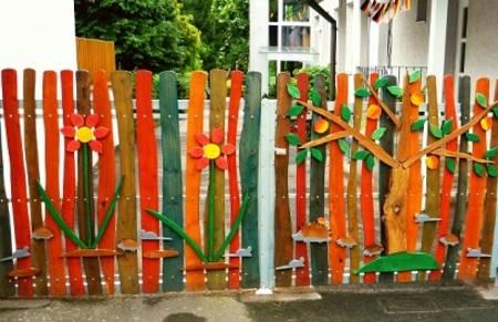 Πολύχρωμες Ιδέες για φράχτες24