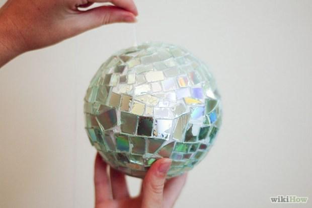 Make-a-Disco-Ball-with-CDs-Step-6