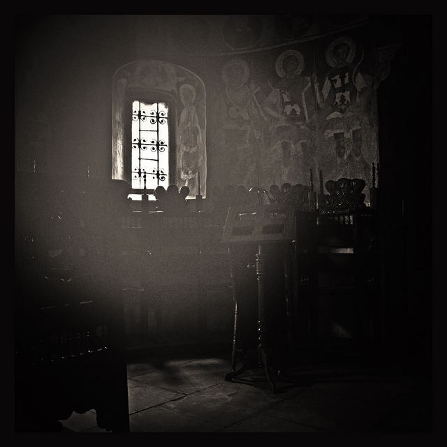 Εσωτερικό Μονής Σταυροπόλεως 3