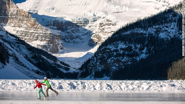Banff Louise Lake, Καναδάς