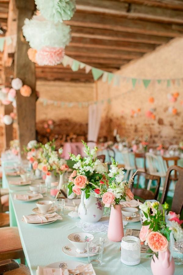 Εκπληκτικές ιδέες διακόσμησης με λουλούδια για το γάμο σας8