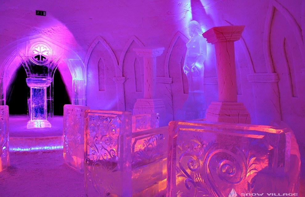 The SnowVillage Snow Hotel in Kittilä3
