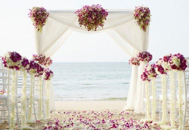 Ιδέες για Διακόσμηση Γάμου σε Παραλία4