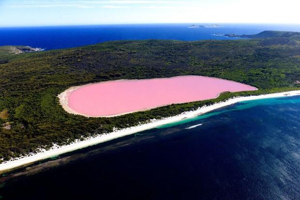Η Λίμνη Hillier, Αυστραλία