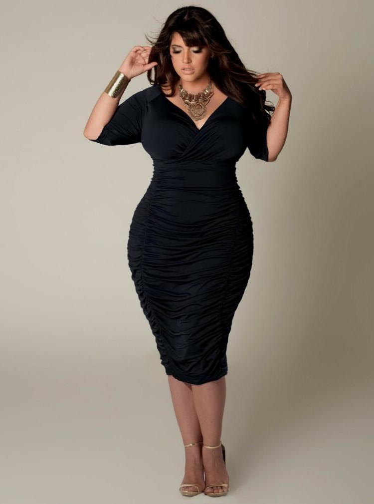 Φορέματα σε μεγάλα μεγέθη - μόδα για γυναίκες με καμπύλες14