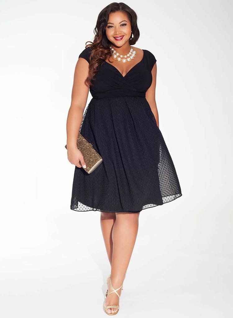 Φορέματα σε μεγάλα μεγέθη - μόδα για γυναίκες με καμπύλες16