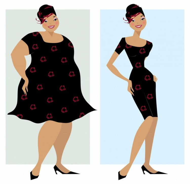 Φορέματα σε μεγάλα μεγέθη - μόδα για γυναίκες με καμπύλες2