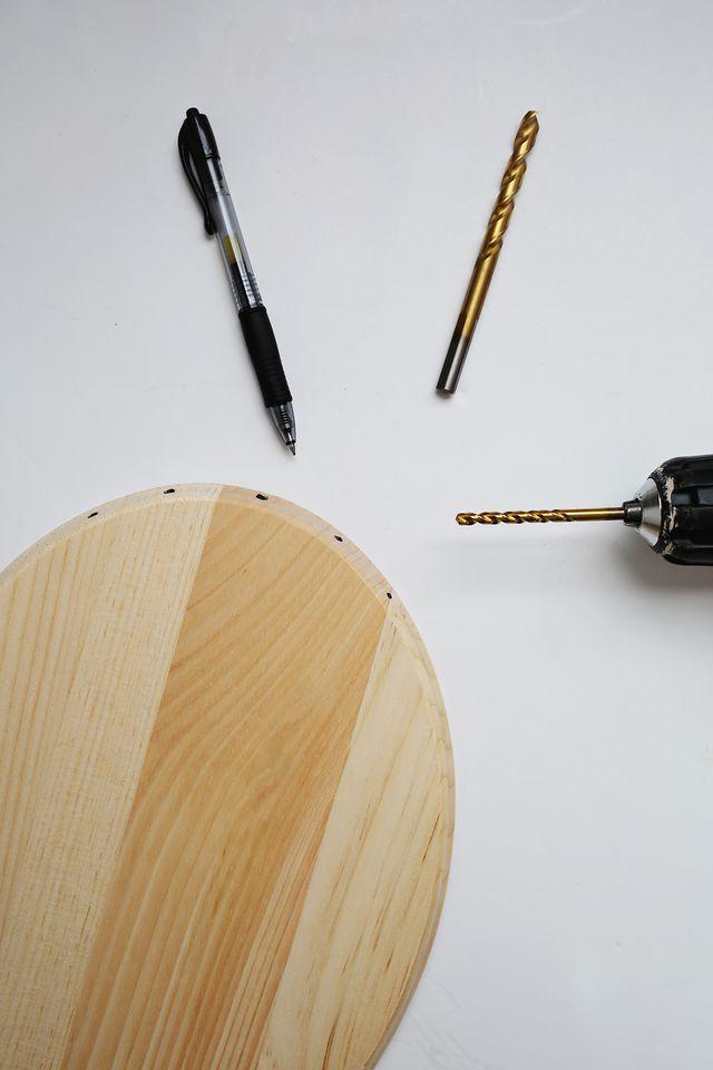 DIY καθρέφτης από χαλκοσωλήνα και ξύλο4