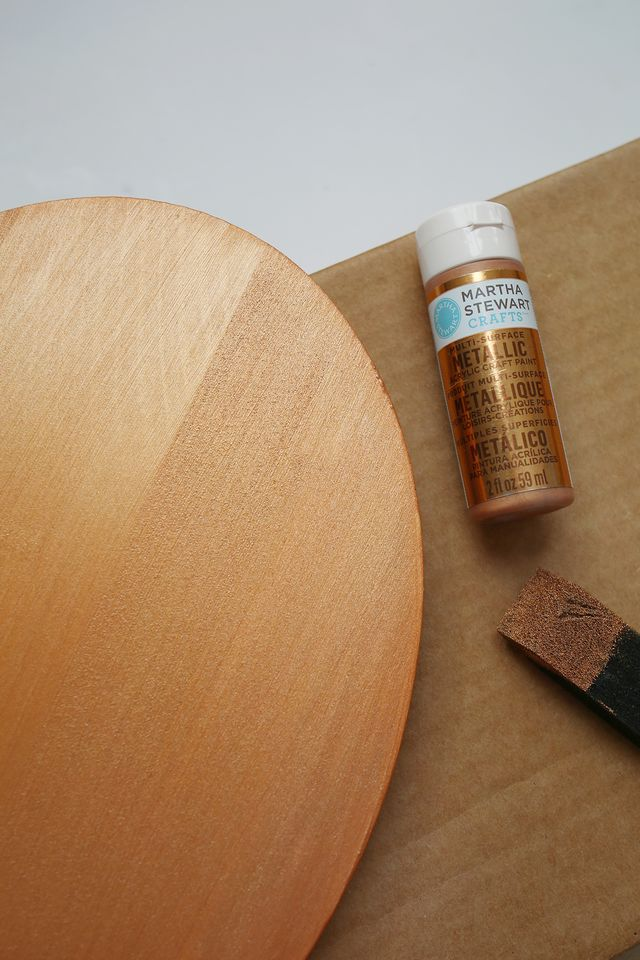 DIY καθρέφτης από χαλκοσωλήνα και ξύλο7