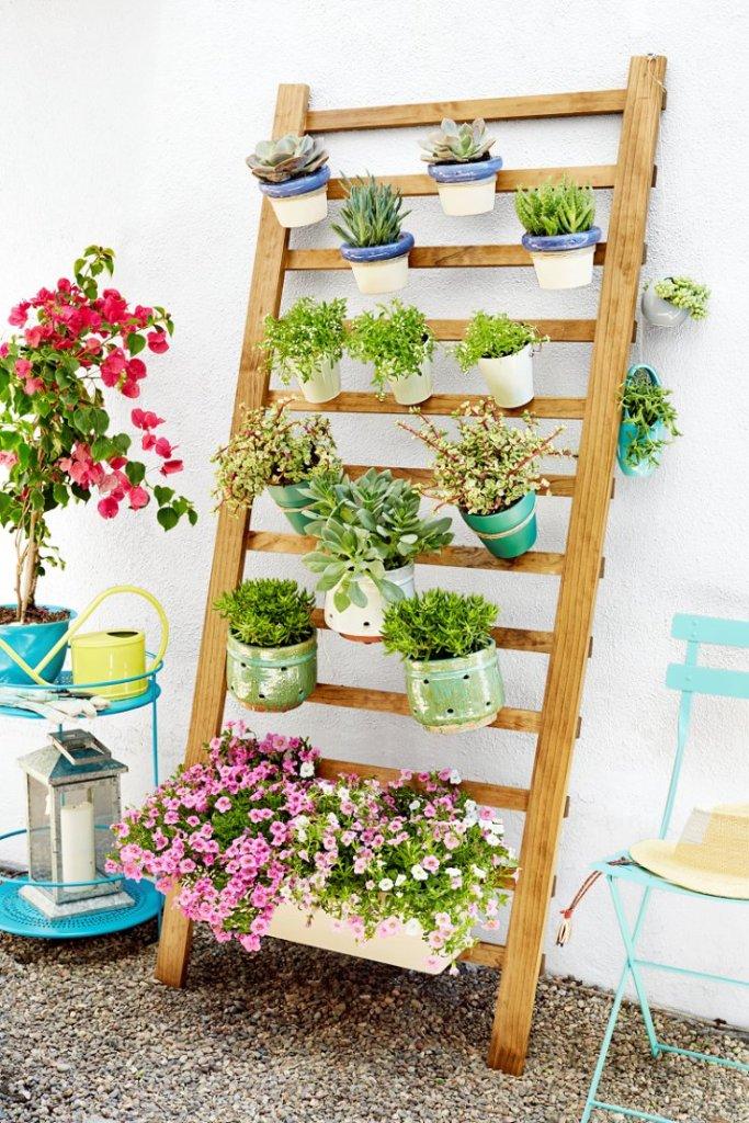 Ιδέες DIY Κάθετου κήπου10