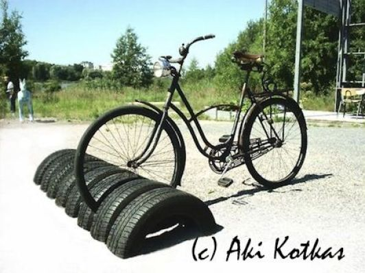 Diy Ιδέες για στάντ ποδηλάτου10