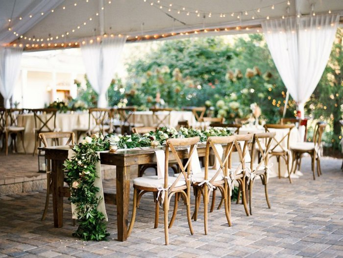 Ρουστίκ ιδέες διακόσμησης γάμου1