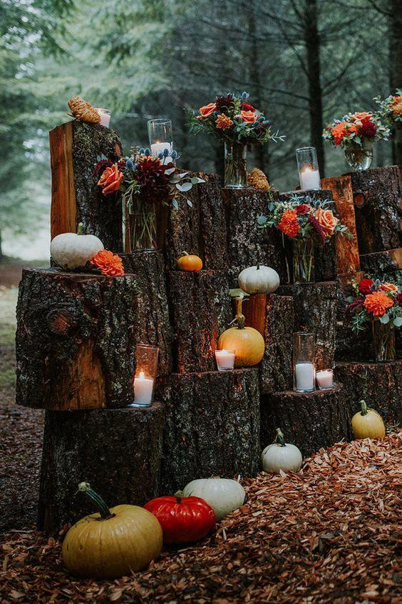 Φθινοπωρινός γάμος ιδέες2