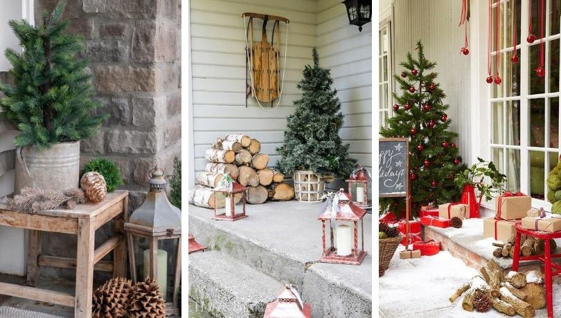 30 Απίθανες ρουστίκ ιδέες Χριστουγεννιάτικης διακόσμησης για εξωτερικούς χώρους
