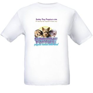 Sunny Day Puppies T-shirts