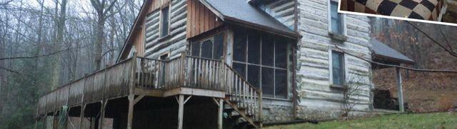 Cedar Knoll Log Cabin Rental