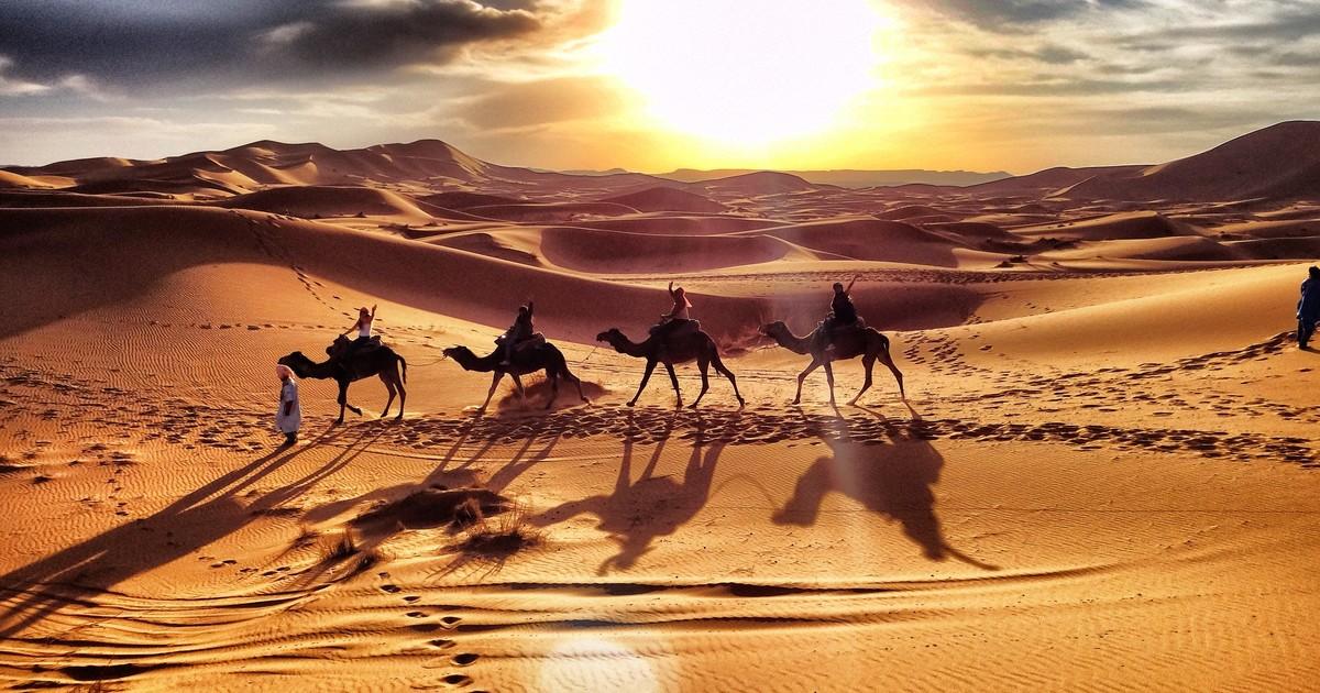Morocco Desert Merzouga