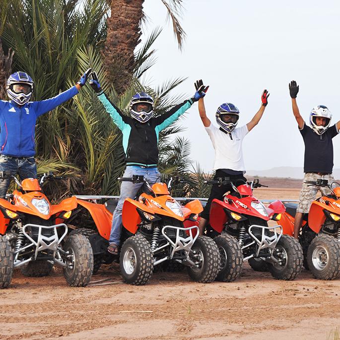Enjoy Marrakech Quads