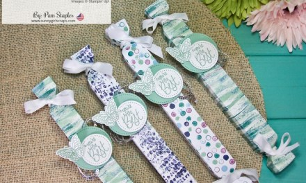 One Stamp At A Time – On The Red Carpet with Tranquil Tide Designer Series Paper
