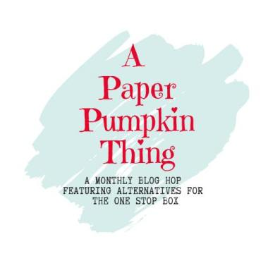 Paper Pumpkin Thing Alternative Blog Hop Graphic