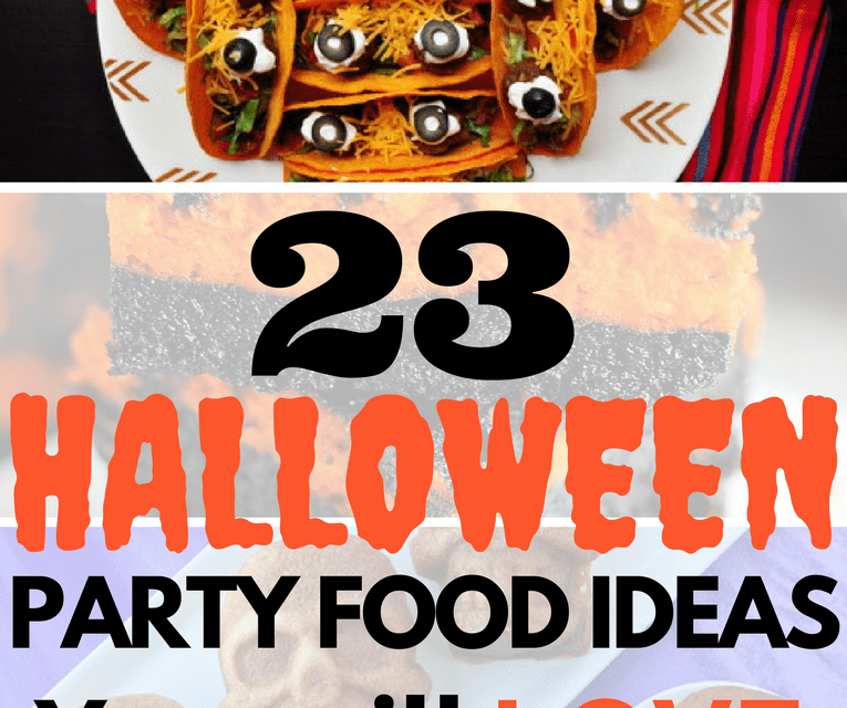 23 Halloween Party Food Ideas