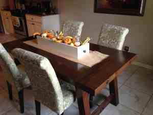 DIY Pottery Barn Benchwright Farmhouse Dining Table