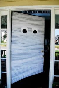 Halloween Door Decoration Mummy Door