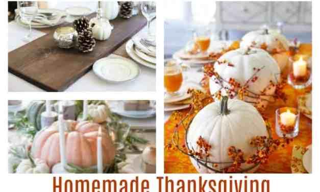 DIY Thanksgiving Table Decor