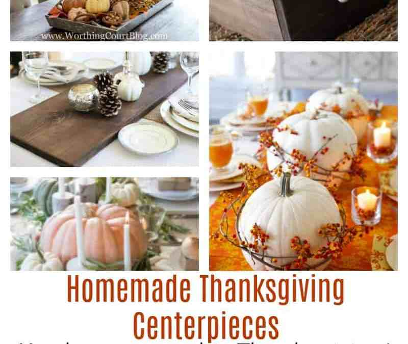Diy thanksgiving table decor sunny home creations Thanksgiving table decorations homemade