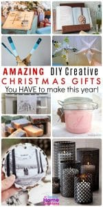 Amazing DIY Creative Christmas Gifts you have to make this year. These creative DIY gift ideas are awesome! They don't even look homemade!