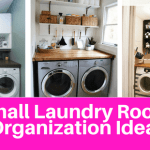 Small Laundry Room Organization Ideas