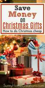 The price of Christmas gifts adds up so quickly each year. Here are some great ideas on how to do Christmas gifts on a budget. There are some great ways to get gifts inexpensive.#christmasgifts, #savemoneyonchristmas #christmasonabudget