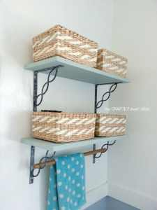 Over Toilet Storage Shelves