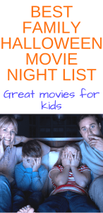 Best Family Halloween Movie Night List