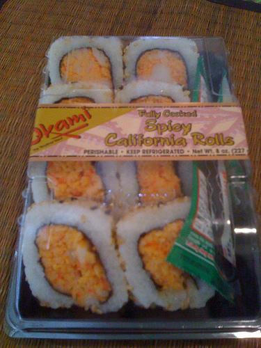 Okami Spicy California Roll