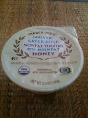 Trader Joe's Organic Greek Style NonFat Yogurt