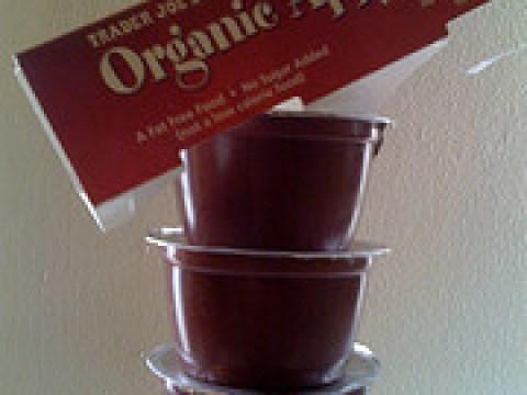 Trader Joe's Organic Apple Sauce with Wild Berries